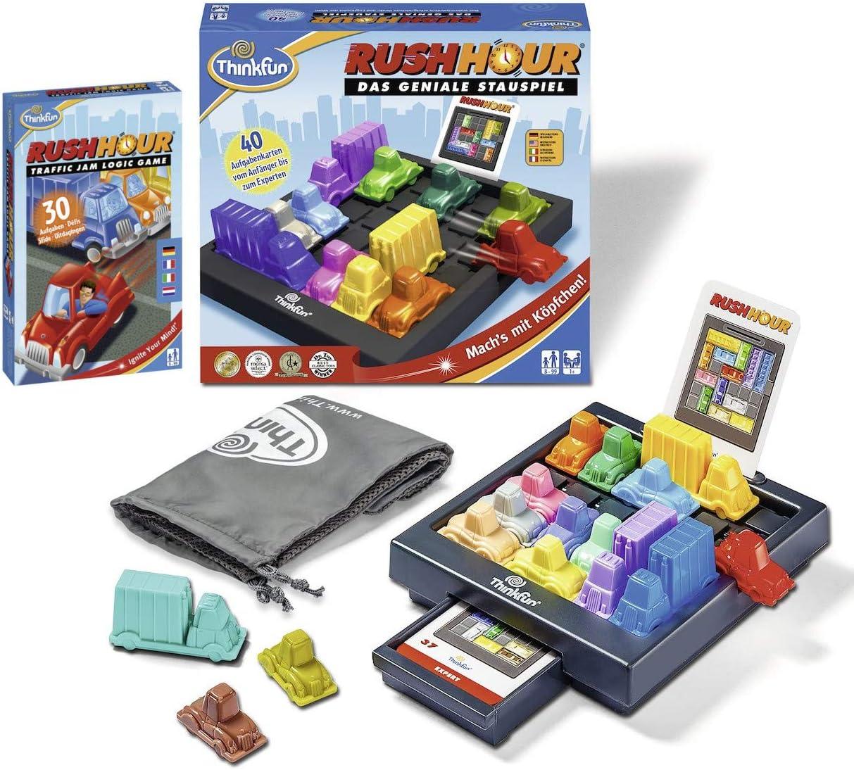 Ravensburger 76301 ThinkFun Rush Hour - Juego de mesa y juego de mesa (incluye juego de mesa Rush Hour): Amazon.es: Juguetes y juegos