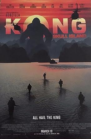 Kong Skull Island 11 5 X17 Original Promo Movie Poster 2017 King Tom Hiddleston At Amazon S Entertainment Collectibles Store