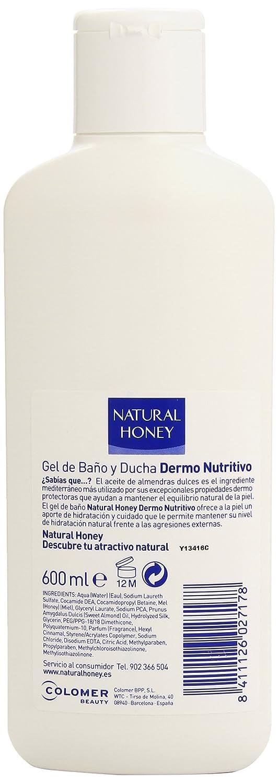 Natural Honey Dermo Nutritivo Gel Baño y Ducha - 600 ml: Amazon.es: Amazon Pantry