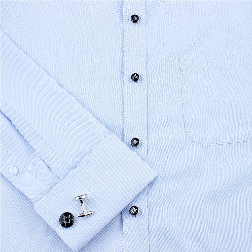 466ef97a9358 HAWSON Freemason Cufflinks and Tuxedo Shirt Studs Set - Men' Wedding  Accessories