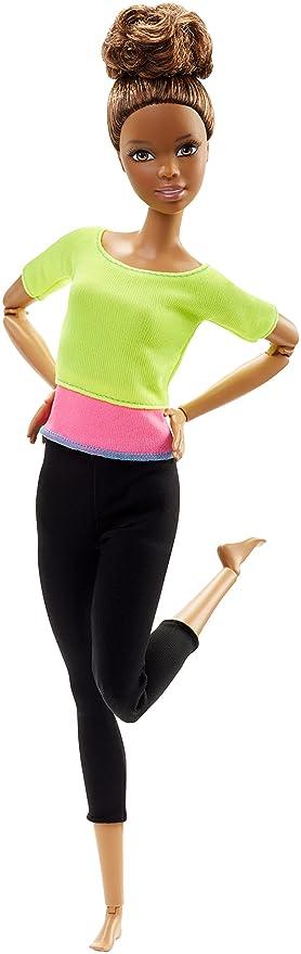 150 opinioni per Barbie DHL83- Bambola Barbie Snodata, Top Giallo