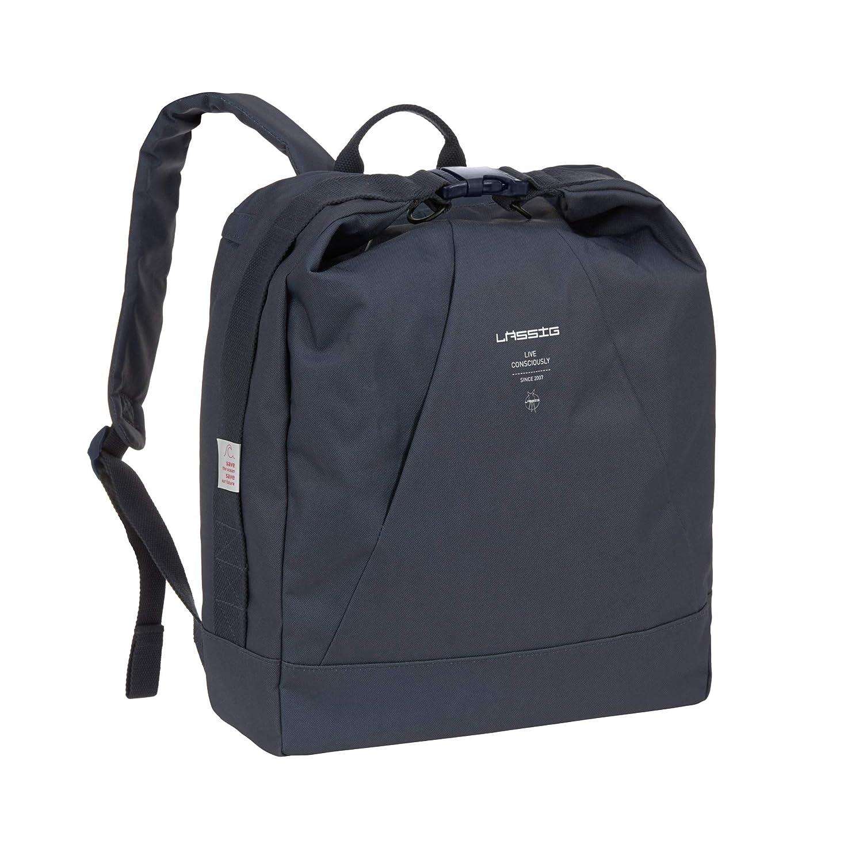 L/ÄSSIG Baby Wickelrucksack Wickeltasche mit Zubeh/ör nachhaltig produziert//Ocean Backpack navy