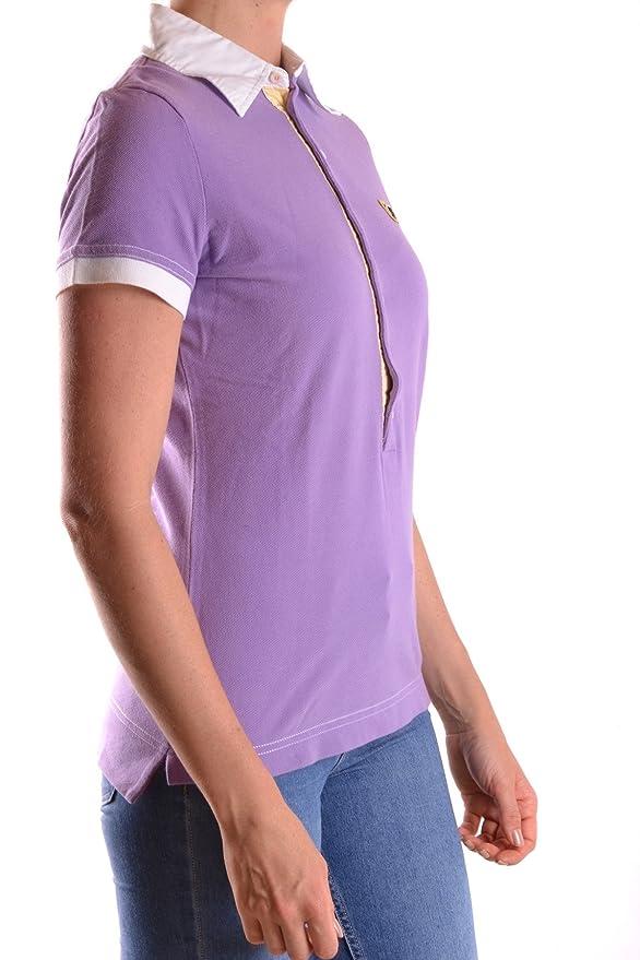 DSQUARED2 Damen Mcbi107013o Violett Baumwolle Poloshirt: Amazon.de:  Bekleidung