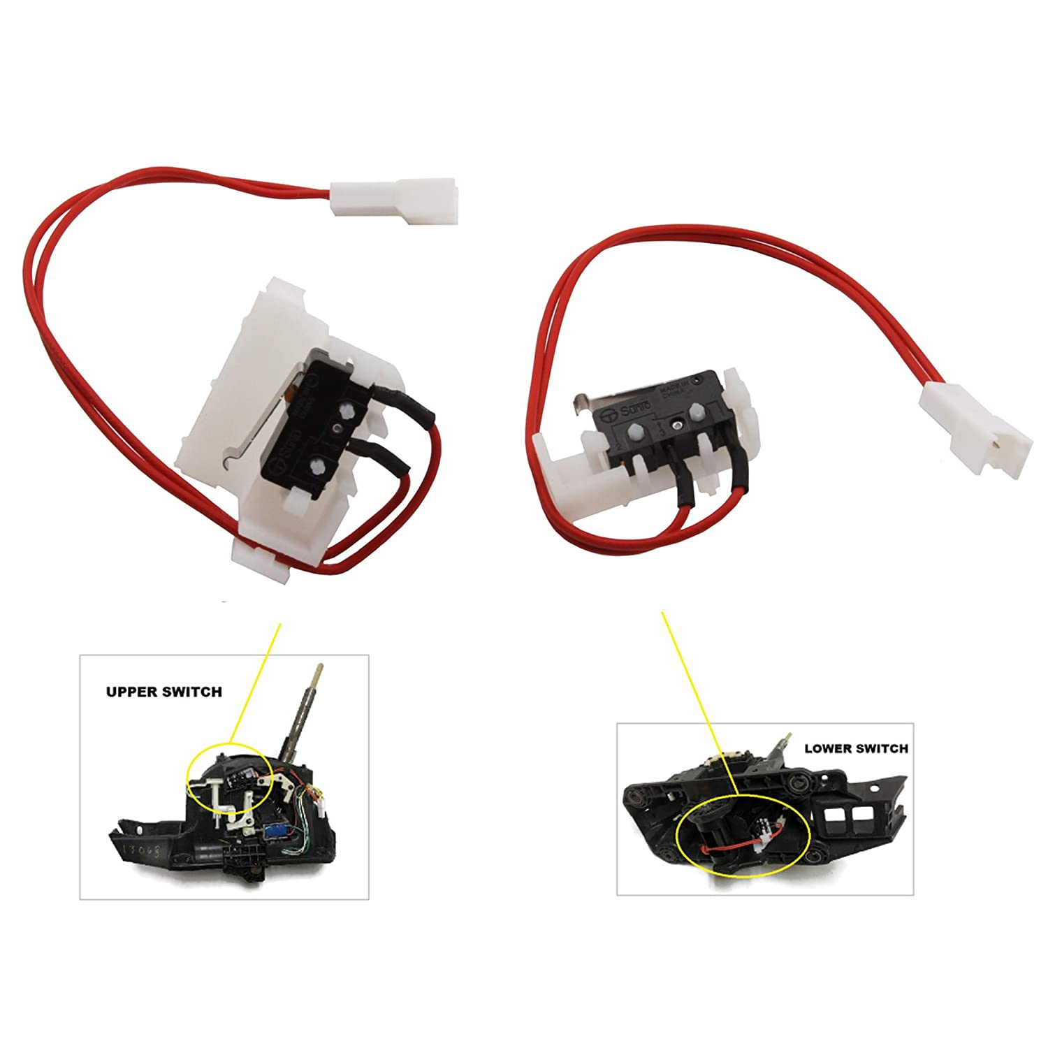 Shifter Repair Kit New Set of 2pcs For 13-17 Nissan Altima Pathfinder 2013 2014 2015 2016 2017 Advane Ignition