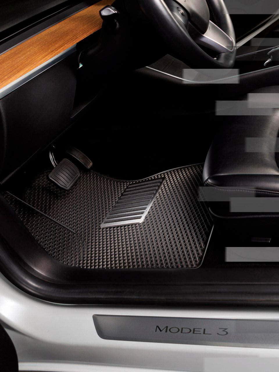 Performance Line Full Interior MATSKY Tesla Model 3 Floor Mats