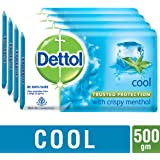 Dettol Cool Soap, 125g (Buy 3 Get 1 Free)