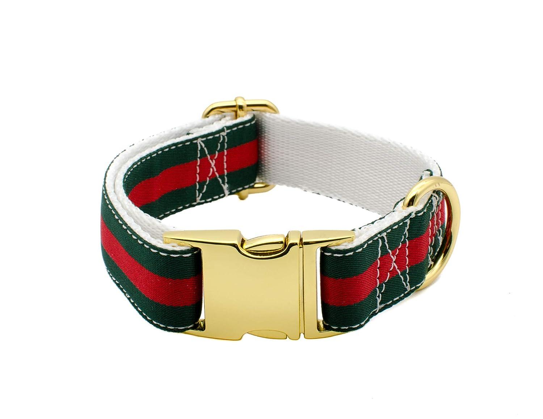 Amazon.com Luxury design designer Gucci inspired dog collar