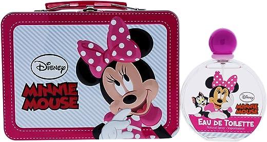 Air-Val Disney Minnie Mouse Metallic Box Eau de Toilette Perfume for Children 100ml