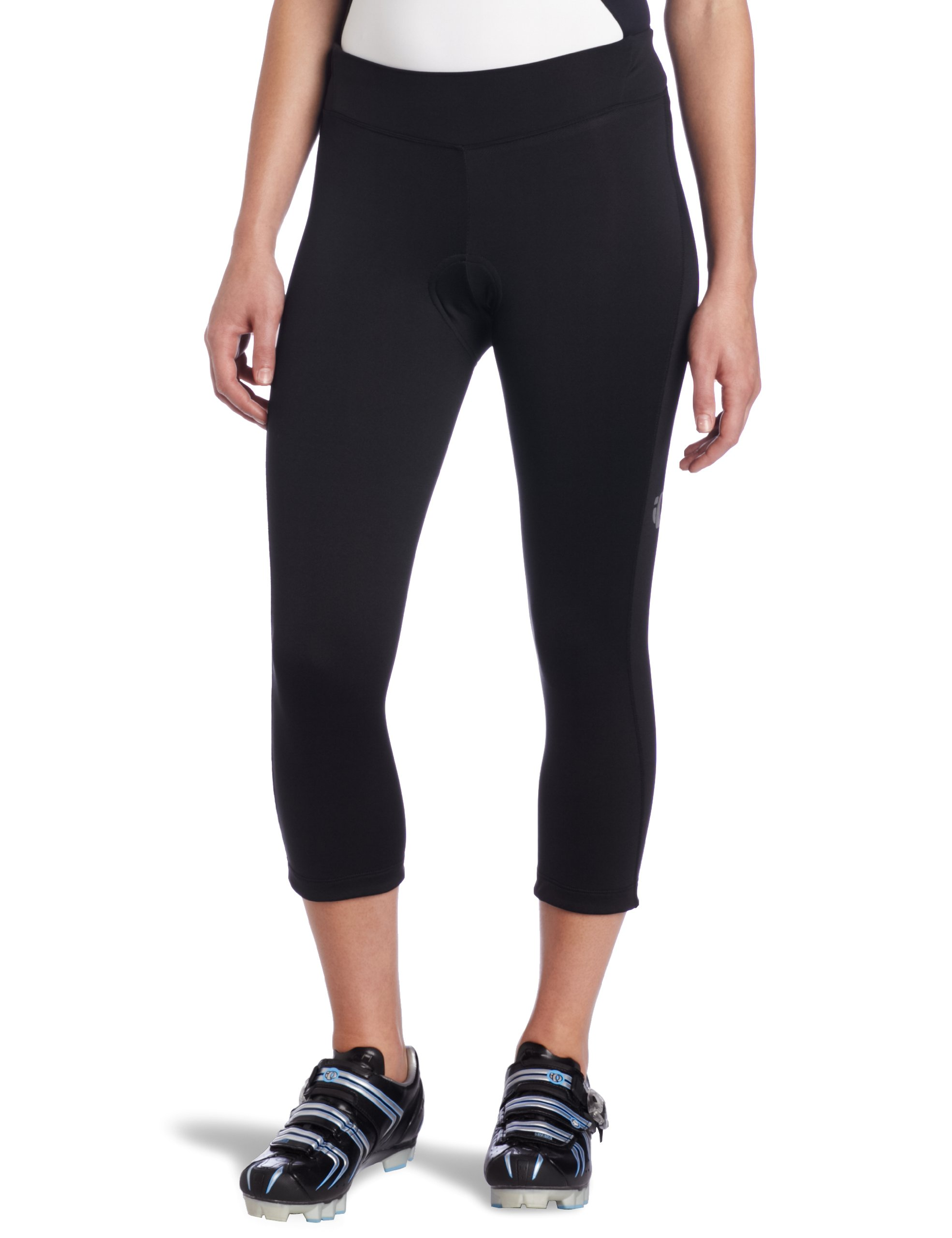 Pearl Izumi Women's Sugar Thermal Cycling 3-Quater Tight, Black, Small by PEARL IZUMI