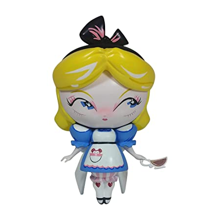 Enesco World of Miss Mindy Disney Designer Collection Alice in Wonderland Vinyl Figurine, 7 , Multicolor