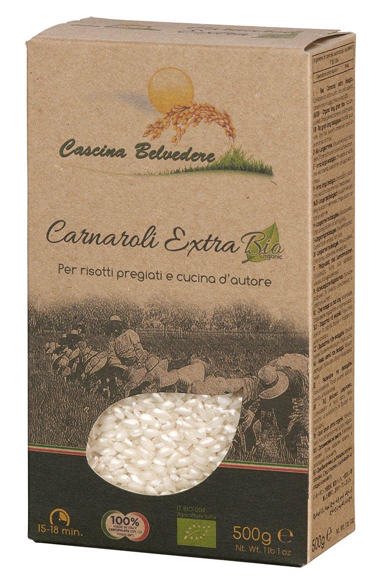 Cascina Belvedere Riso superfino - Bio - Risotto-Reis Carnaroli aus Italien/Piemont (1 x 0.5 kg): Amazon.de: Lebensmittel & Getränke - Risotto