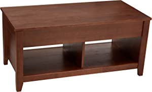 AmazonBasics Lift-top Coffee Table, Espresso