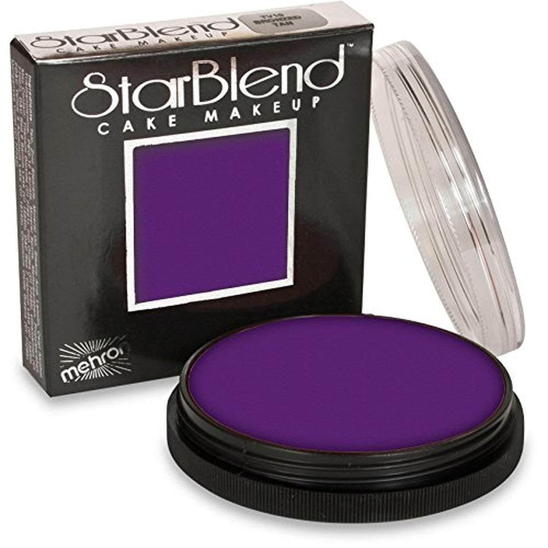Mehron Makeup StarBlend Cake (2 oz) (Purple)