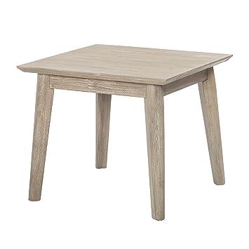 Couchtisch Akazie massiv grau sand Sofa Tisch Couch Wohnzimmer ...