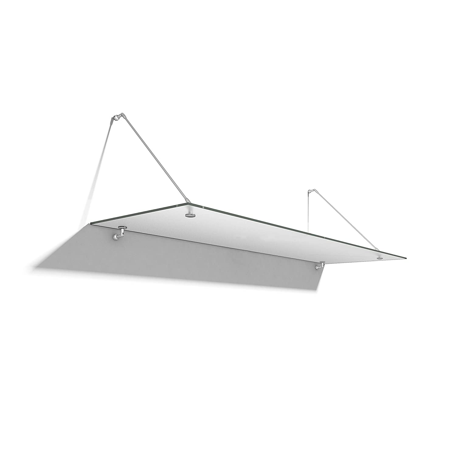 P501 Rafter Glazing Bar System Suitable for Both Polycarbonate and Glass 4000mm, White