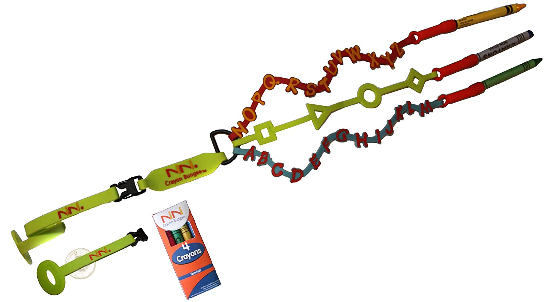 NiNi Crayon Bungee, 1-Pack Inc. C100Alpha