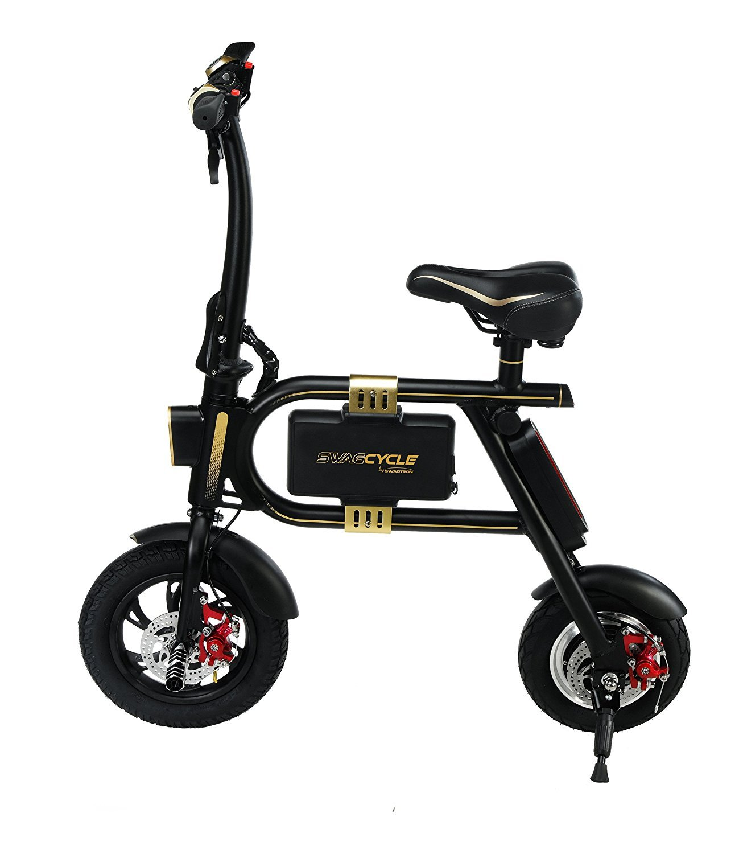 Swagtron Swag Cycle E-Bike Folding Electric Bicycle