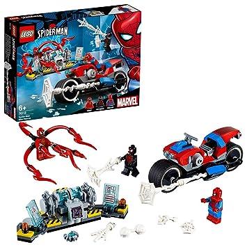 Lego 76113 Super Heroes Spider Man Bike Rescue Building Set Marvel