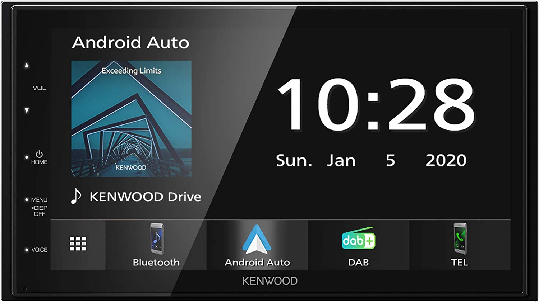 Kenwood Dmx5020dabs 17 3 Cm Wvga Digital Media Moniceiver Mit Dab Ukw Carplay Android Auto Android Usb Mirroring Bluetooth Kapazitivem Touchpanel Dsp 4 X 50 Watt Navigation