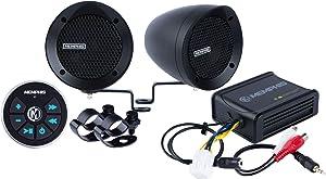 Memphis Powersports Speakers (Memphis Powersports | MXABMB2BT | Black)