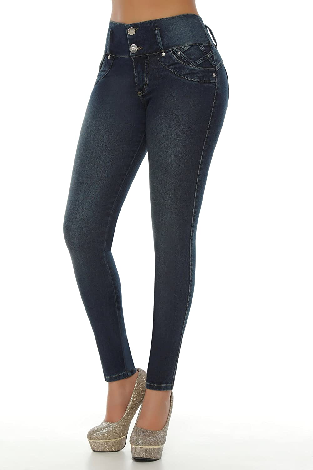 VEROX JEANS - SKINNY JEANS - PANTALONES COLOMBIANOS 2214 well-wreapped