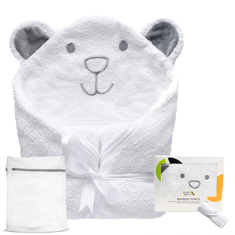 100/% Bambus Baby Handtuch mit Kapuze sehr saugf/ähig Bambus-Waschlappen nat/ürlicher UV-Schutz