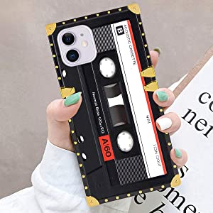 Case Fits for Apple iPhone 11 [6.1 Version] Vintage Cassette Tape for Girls Women Teens