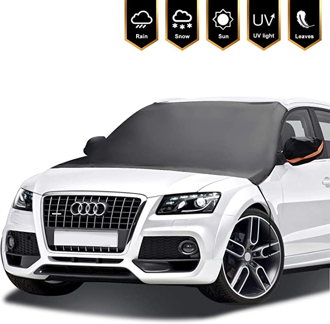 Car Windshield Snow Cover Mirror Covers Ice Frost Wind Sun Proof for SUV Truck