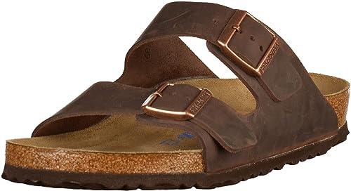 meet d4b68 3e6f6 Birkenstock Men Shoes/Sandals Arizona NU Oiled SFB Brown 43