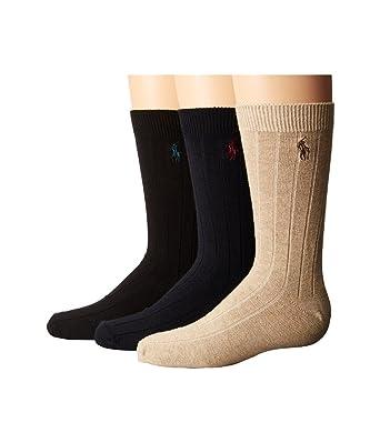 Ralph Lauren Polo Vestido para niños con lazo, calcetines de la ...