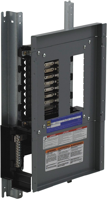 Schneider Electric Panel Board Int Nq 100 Amp Mlo 18 Circuit 1 Pole Square D Qo120gficp 20amp 1pole Gfci Breaker Copper Nq18l1c Molded Case 600v 90a Electrical Distribution Panels Amazon