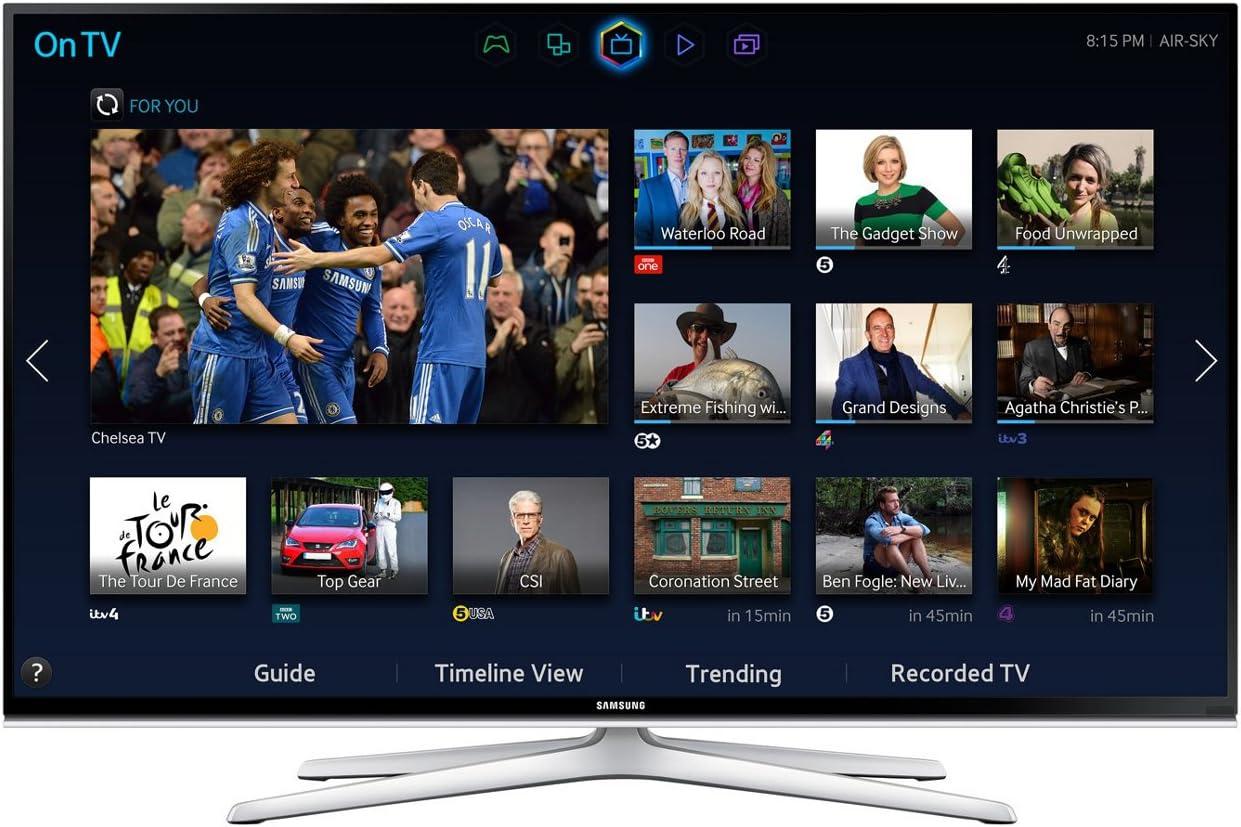 SAMSUNG UE48H6500 48 -Inch LCD 1080 Pixels 400 Hz 3D TV, [Importado de UK]: Amazon.es: Electrónica