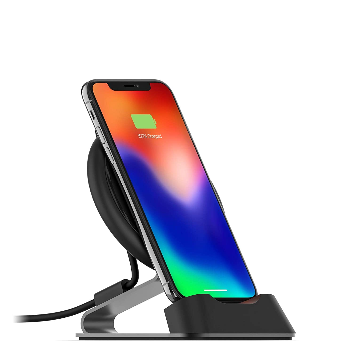 Outstanding Mophie Charge Stream Desk Stand Made For Apple Iphone Xs X Iphone Xs Max Iphone Xr Iphone 8 Plus Iphone 8 Samsung And Other Qi Enabled Devices Download Free Architecture Designs Meptaeticmadebymaigaardcom