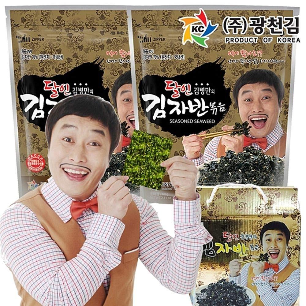 Dalin Seaweed Flake 60g x 5 packs, South Korea