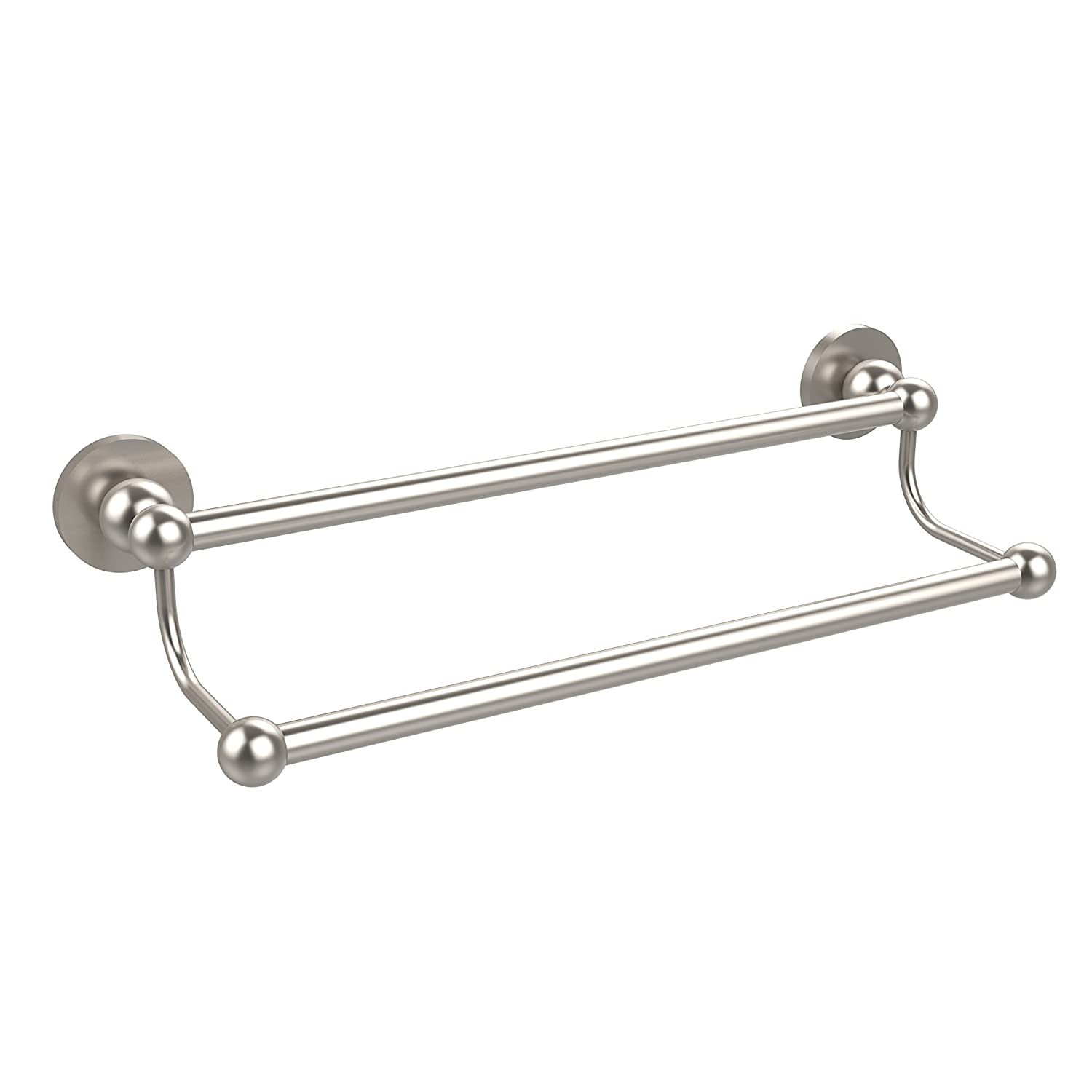 Allied Brass BL-72/36-SN Bolero Collection 36 Inch Double Towel Bar Satin Nickel