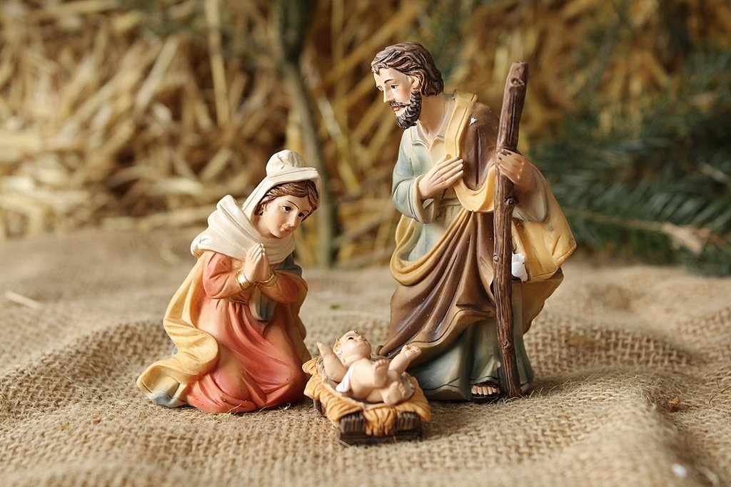 Krippenfiguren Heilige Familie K 504-01