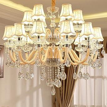 Joeyhome Luxury K9 Kristall Kronleuchter Schlafzimmer Luster Fur