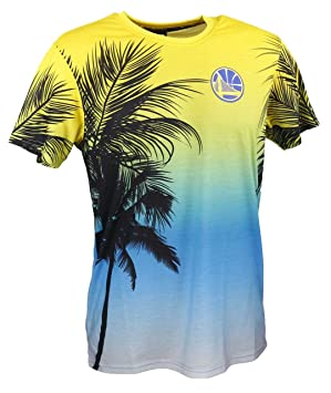 New Era NBA Coastal Heat Tee golwar – T-Shirt Ligne Golden State Warriors fbf521eaa