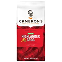 Deals on Cameron's Coffee Roasted Ground Coffee Bag, 10 Ounce