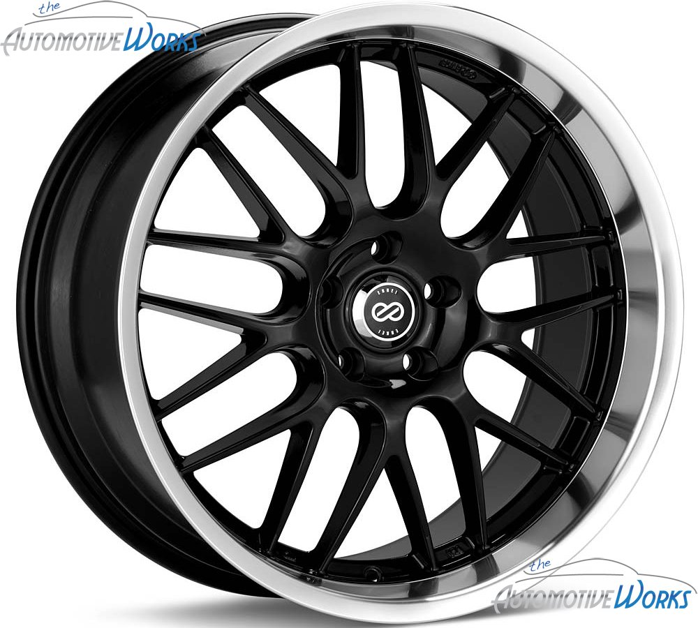 18x7.5 Enkei Lusso (Black) Wheels/Rims 5x110 (469-875-5142BK) by Enkei (Image #5)