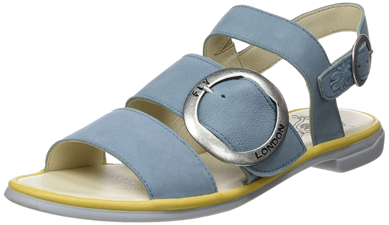azul (Pale azul Bumblebee 003) Fly London Coda006fly, Sandalias de Punta Descubierta para mujer