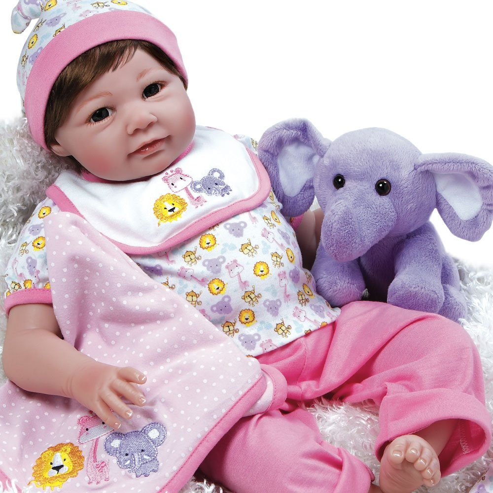 Paradise Galleries Lifelike Realistic Weighted Baby Doll: Paradise Galleries Realistic Great To Reborn