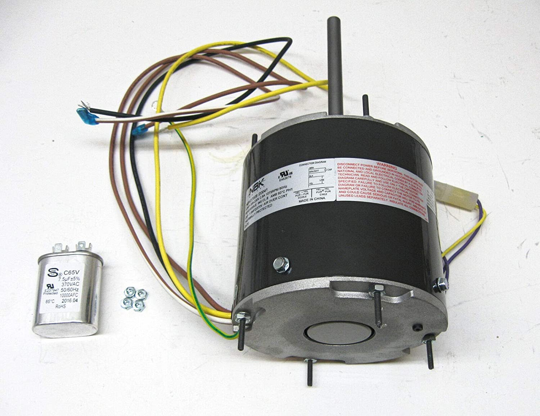 AC Air Conditioner Condenser Fan Motor 1/3 HP 1075 RPM 230 ... Fasco D Wiring Diagram on