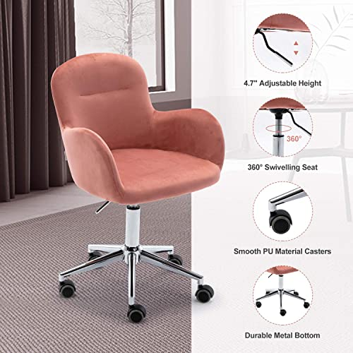 ARCTICSCORPION Velvet Desk Chair