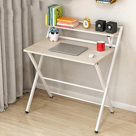 mesa plegable Ajustable Escritorio de la computadora Simple Mesa ...