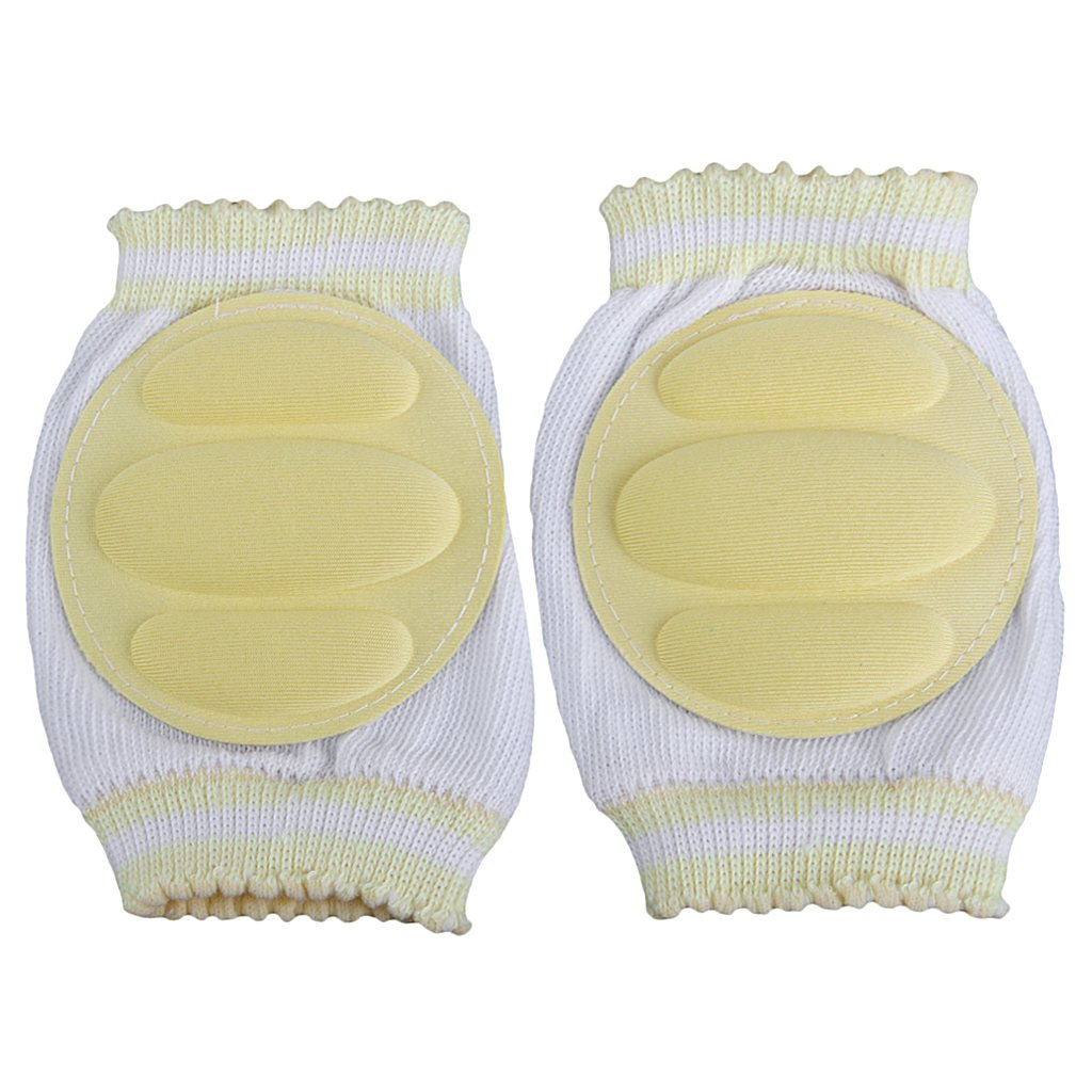 1 Pair Baby Knee Pads Crawling Toddler Kids Elbow Protective Safety Mesh Generic