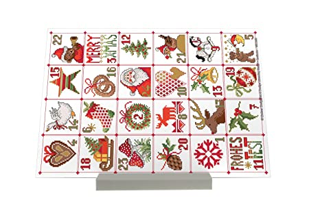 impresión del arte Soporte Fotografias Santa Claus Lindner Calendario de Adviento Letrero Decoración