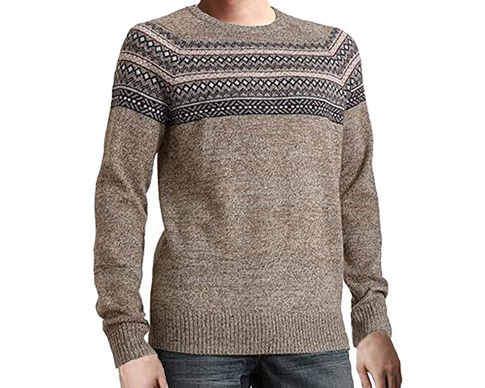 Urban Pipeline Fairisle Men's Hickory Sweater - X-large at Amazon ...