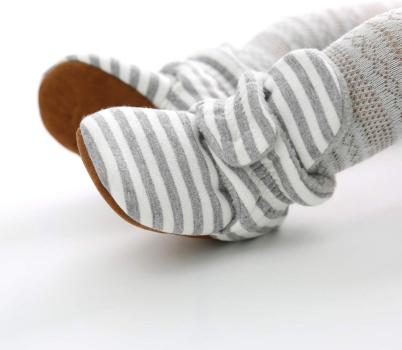 Sabe Zapatos Primeros Pasos Para Ni/ño,Beb/é Ni/ño Infantil Nieve Botas Zapatos Cuna Prewalker 0-18 Mesi