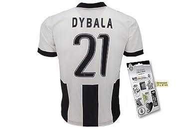 Réplica de la Camiseta de fútbol Juventus DYBALA-Juego de camiseta-Pegatina  los oficiales 028655e06c5c6
